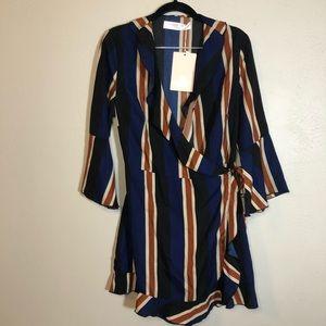 ASOS brand Outrageous Wrap Dress | size 12